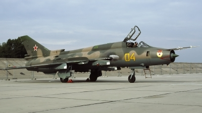Photo ID 116213 by Chris Lofting. Russia Air Force Sukhoi Su 17M4 Fitter K, 04 YELLOW
