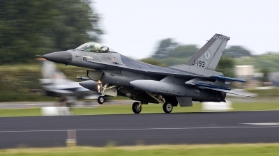 Photo ID 116333 by André Jans. Netherlands Air Force General Dynamics F 16AM Fighting Falcon, J 193