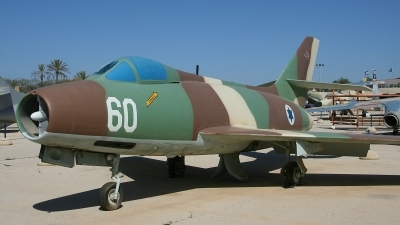 Photo ID 116351 by Paul Newbold. Israel Air Force Dassault Mystere IVA, 60