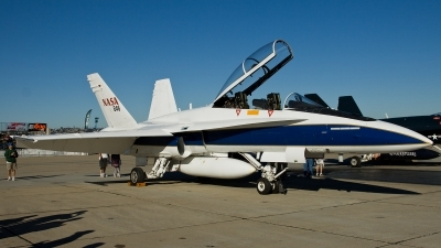 Photo ID 116478 by Thomas Ziegler - Aviation-Media. USA NASA McDonnell Douglas F A 18B Hornet, N846NA