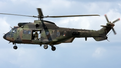 Photo ID 116430 by Rainer Mueller. Netherlands Air Force Aerospatiale AS 532U2 Cougar MkII, S 438