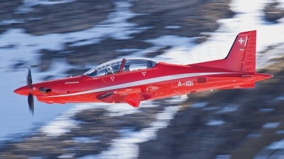 Photo ID 116608 by Isch Eduard. Switzerland Air Force Pilatus PC 21, A 101