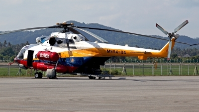 Photo ID 116838 by Carl Brent. Malaysia Fire and Rescue Department Mil Mi 17 1V, M994 04