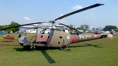 Photo ID 117010 by Carl Brent. Malaysia Air Force Aerospatiale SA 316B Alouette III, FM 1316