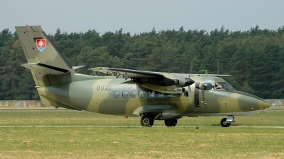 Photo ID 117101 by Radim Spalek. Slovakia Air Force LET L 410UVP T, 0927