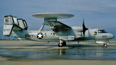 Photo ID 117191 by David F. Brown. USA Navy Grumman E 2C Hawkeye, 162797