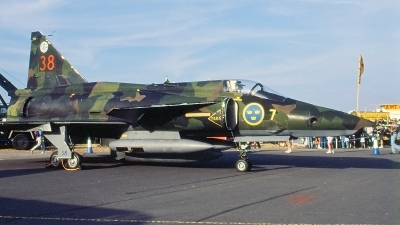 Photo ID 117275 by Walter Van Bel. Sweden Air Force Saab AJSF37 Viggen, 37976