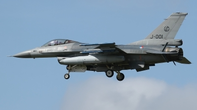 Photo ID 117417 by Rainer Mueller. Netherlands Air Force General Dynamics F 16AM Fighting Falcon, J 001