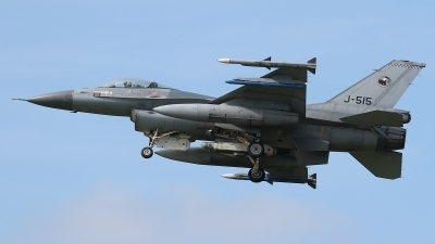 Photo ID 117452 by Rainer Mueller. Netherlands Air Force General Dynamics F 16AM Fighting Falcon, J 515