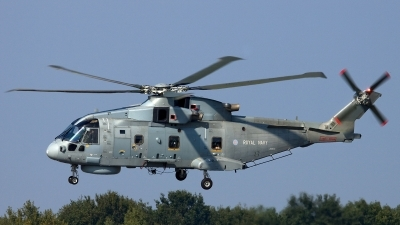 Photo ID 117899 by Thomas Ziegler - Aviation-Media. UK Navy Agusta Westland EH 101 Merlin HM1 Mk111, ZH838
