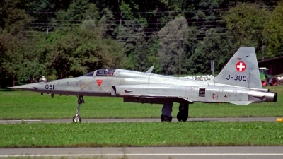 Photo ID 125858 by Sven Zimmermann. Switzerland Air Force Northrop F 5E Tiger II, J 3051