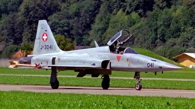 Photo ID 118105 by Sven Zimmermann. Switzerland Air Force Northrop F 5E Tiger II, J 3041