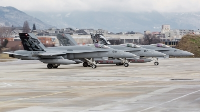 Photo ID 117650 by Alex van Noye. Switzerland Air Force McDonnell Douglas F A 18C Hornet, J 5018