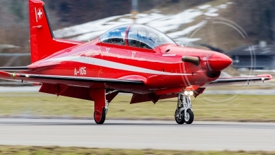 Photo ID 117957 by Alex van Noye. Switzerland Air Force Pilatus PC 21, A 105