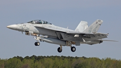 Photo ID 117642 by David F. Brown. USA Navy Boeing F A 18F Super Hornet, 166624
