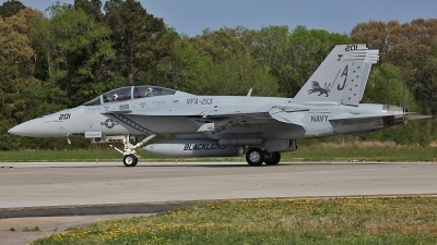 Photo ID 117669 by David F. Brown. USA Navy Boeing F A 18F Super Hornet, 166674