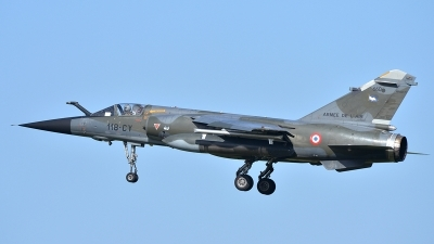 Photo ID 117639 by Lieuwe Hofstra. France Air Force Dassault Mirage F1CR, 660