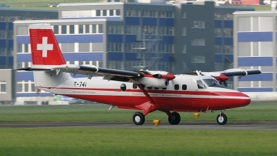 Photo ID 117871 by Martin Thoeni - Powerplanes. Switzerland Air Force De Havilland Canada DHC 6 300 Twin Otter, T 741
