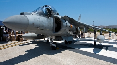 Photo ID 117981 by Jan Eenling. Spain Navy McDonnell Douglas EAV 8B Harrier II Plus, VA 1B 27