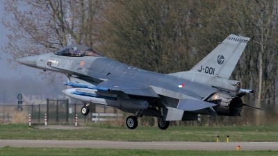 Photo ID 117963 by Rainer Mueller. Netherlands Air Force General Dynamics F 16AM Fighting Falcon, J 001
