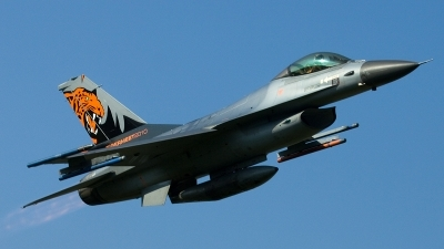 Photo ID 118775 by Thomas Ziegler - Aviation-Media. Netherlands Air Force General Dynamics F 16AM Fighting Falcon, J 055