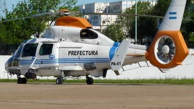 Photo ID 118052 by Fabian Pesikonis. Argentina Coast Guard Aerospatiale AS 565MA Panther, PA 41