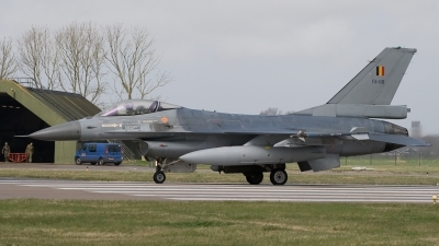 Photo ID 118152 by Bert van Wijk. Belgium Air Force General Dynamics F 16AM Fighting Falcon, FA 118