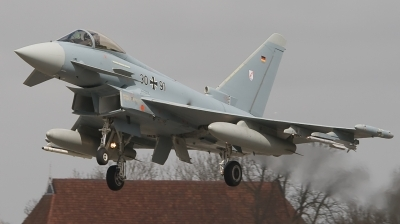 Photo ID 118136 by Bert van Wijk. Germany Air Force Eurofighter EF 2000 Typhoon S, 30 91