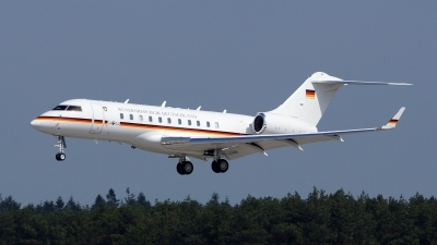 Photo ID 118283 by Lukas Kinneswenger. Germany Air Force Bombardier BD 700 1A11 Global 5000, 14 04