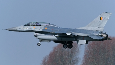 Photo ID 118345 by Rainer Mueller. Belgium Air Force General Dynamics F 16BM Fighting Falcon, FB 17