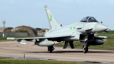 Photo ID 118356 by Carl Brent. UK Air Force Eurofighter EF 2000 Typhoon FGR4, ZJ937