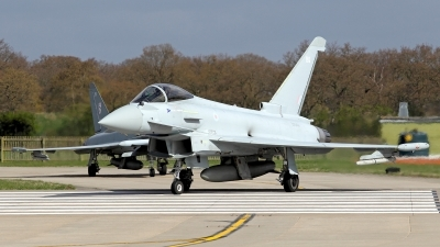 Photo ID 118353 by Carl Brent. UK Air Force Eurofighter EF 2000 Typhoon FGR4, ZK344