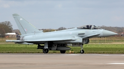 Photo ID 118555 by Carl Brent. UK Air Force Eurofighter EF 2000 Typhoon FGR4, ZK344