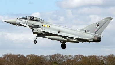 Photo ID 118475 by Carl Brent. UK Air Force Eurofighter EF 2000 Typhoon FGR4, ZJ933