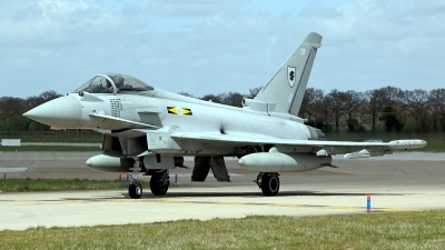 Photo ID 118414 by Carl Brent. UK Air Force Eurofighter EF 2000 Typhoon FGR4, ZJ933