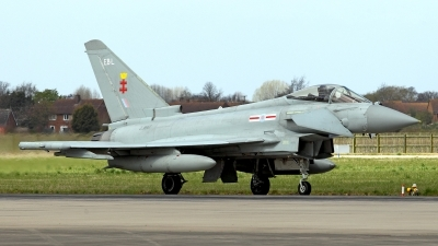 Photo ID 119268 by Carl Brent. UK Air Force Eurofighter EF 2000 Typhoon FGR4, ZJ947