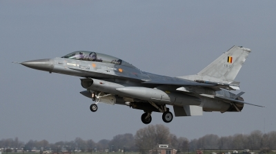 Photo ID 118669 by Giampaolo Tonello. Belgium Air Force General Dynamics F 16BM Fighting Falcon, FB 17