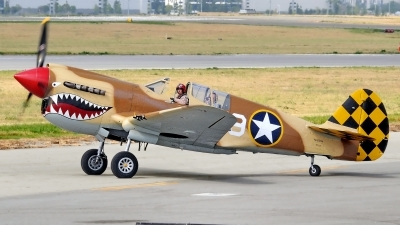 Photo ID 119239 by W.A.Kazior. Private Planes of Fame Air Museum Curtiss P 40N Warhawk, N85104