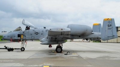 Photo ID 119330 by Peter Boschert. USA Air Force Fairchild A 10C Thunderbolt II, 82 0647