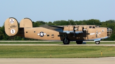 Photo ID 15490 by Mike Egan. Private Commemorative Air Force Consolidated B 24 RLB 30 Liberator I, N24927