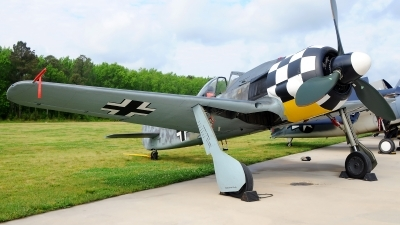 Photo ID 119751 by W.A.Kazior. Private Military Aviation Museum Flug Werk FW 190A 8 N, N447FW