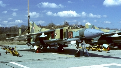 Photo ID 119770 by Carl Brent. Hungary Air Force Mikoyan Gurevich MiG 23MF, 03