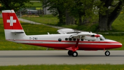 Photo ID 119876 by Sven Zimmermann. Switzerland Air Force De Havilland Canada DHC 6 300 Twin Otter, T 741
