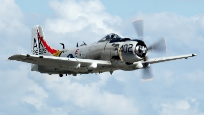 Photo ID 119866 by Baldur Sveinsson. Private Private Douglas A 1D Skyraider AD 4NA, G RADR