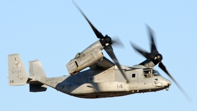Photo ID 119944 by Mark Munzel. USA Marines Bell Boeing MV 22B Osprey, 166724