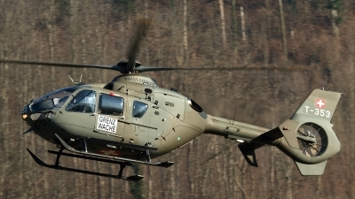 Photo ID 120034 by Thomas Ziegler - Aviation-Media. Switzerland Air Force Eurocopter EC 635P2, T 353