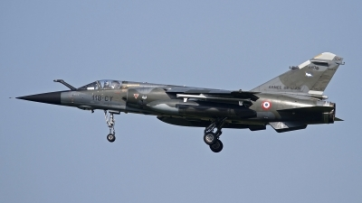 Photo ID 120056 by Niels Roman / VORTEX-images. France Air Force Dassault Mirage F1CR, 660