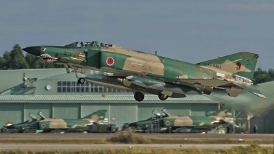 Photo ID 120208 by Darren Mottram. Japan Air Force McDonnell Douglas RF 4E Phantom II, 47 6903