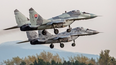 Photo ID 120116 by Petr Pospisil. Slovakia Air Force Mikoyan Gurevich MiG 29AS, 3911