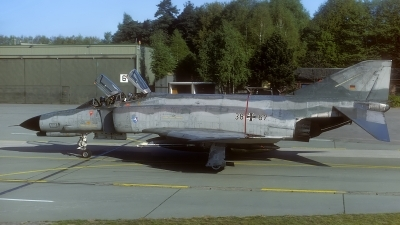 Photo ID 120115 by Rainer Mueller. Germany Air Force McDonnell Douglas F 4F Phantom II, 38 67